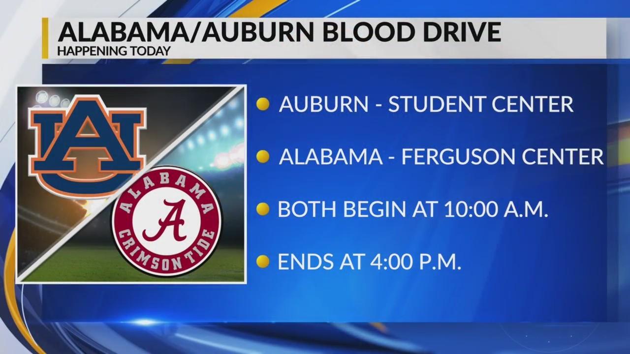 Alabama/Auburn Blood Drive