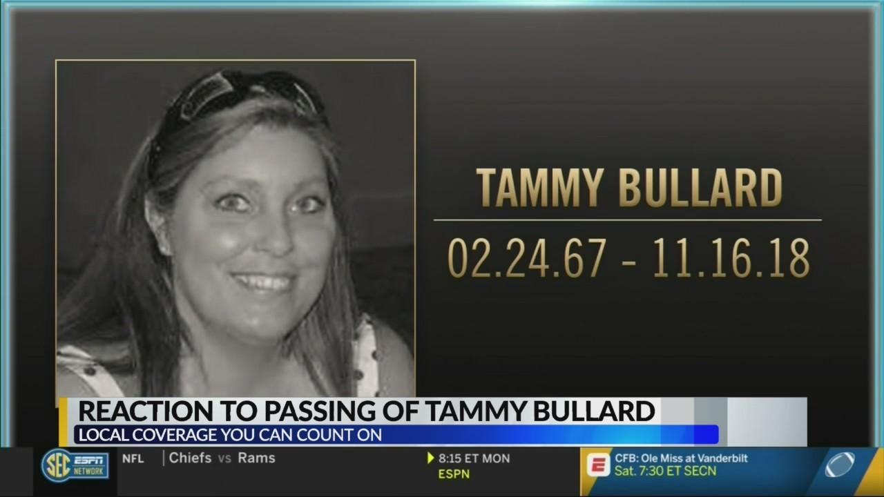 Fans react to passing of Tammy Bullard