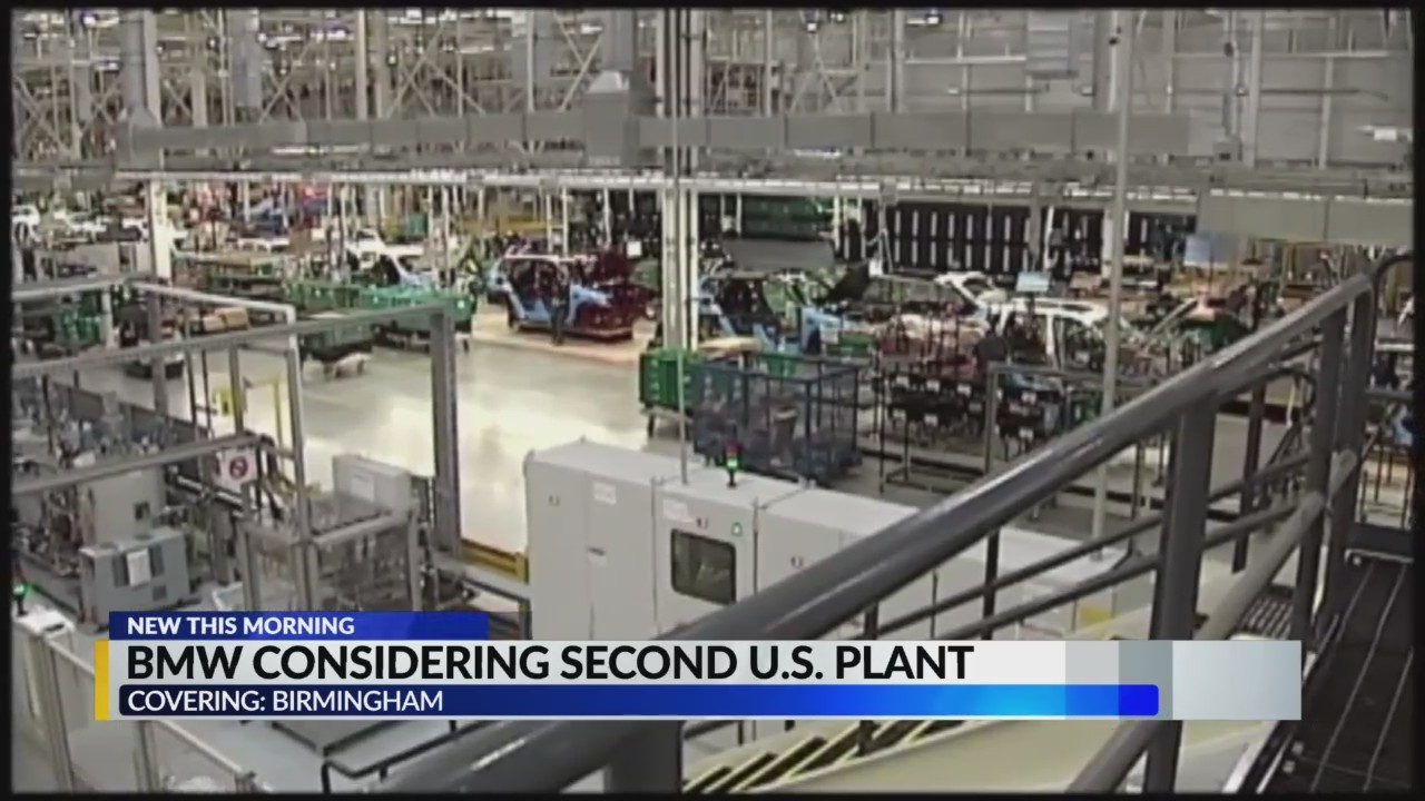 Woodfin trying for BMW plant in Alabama