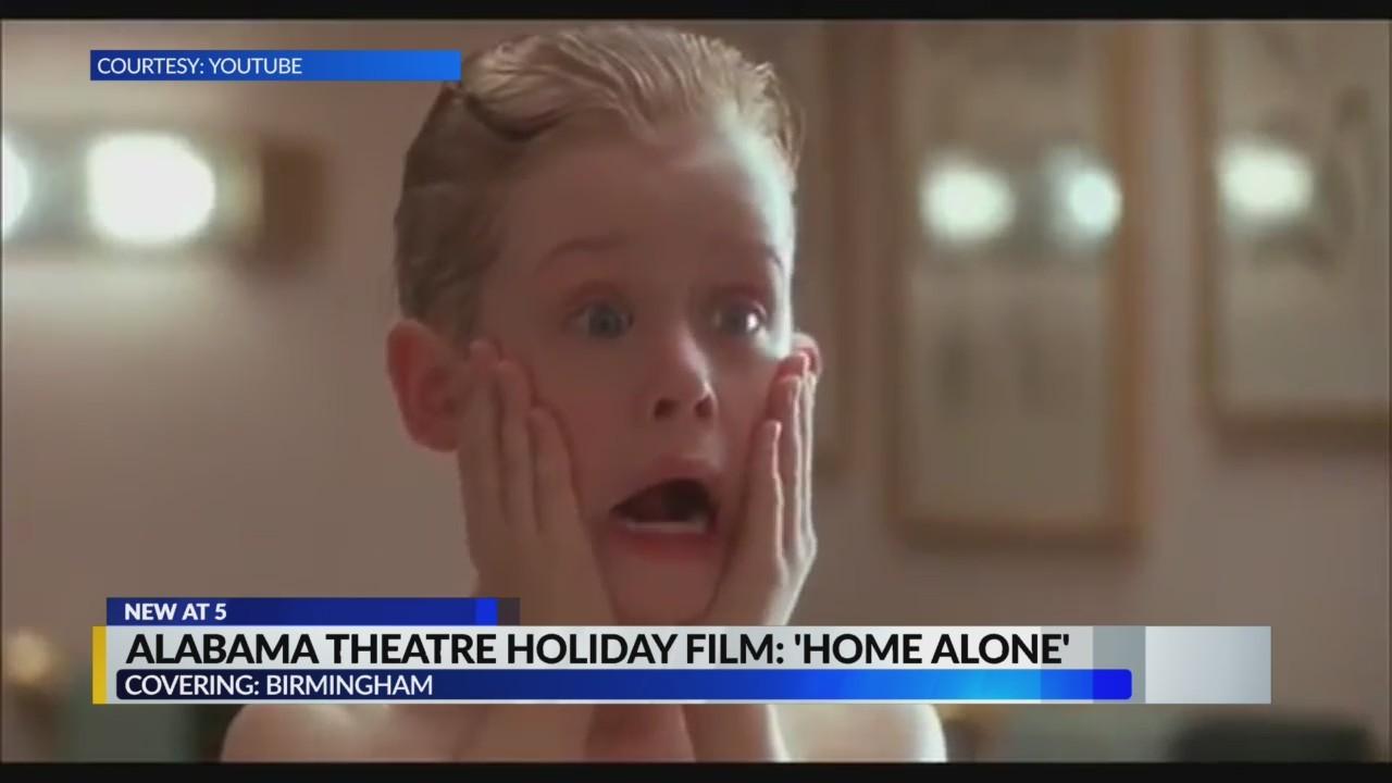 Alabama theatre holiday film: Home Alone