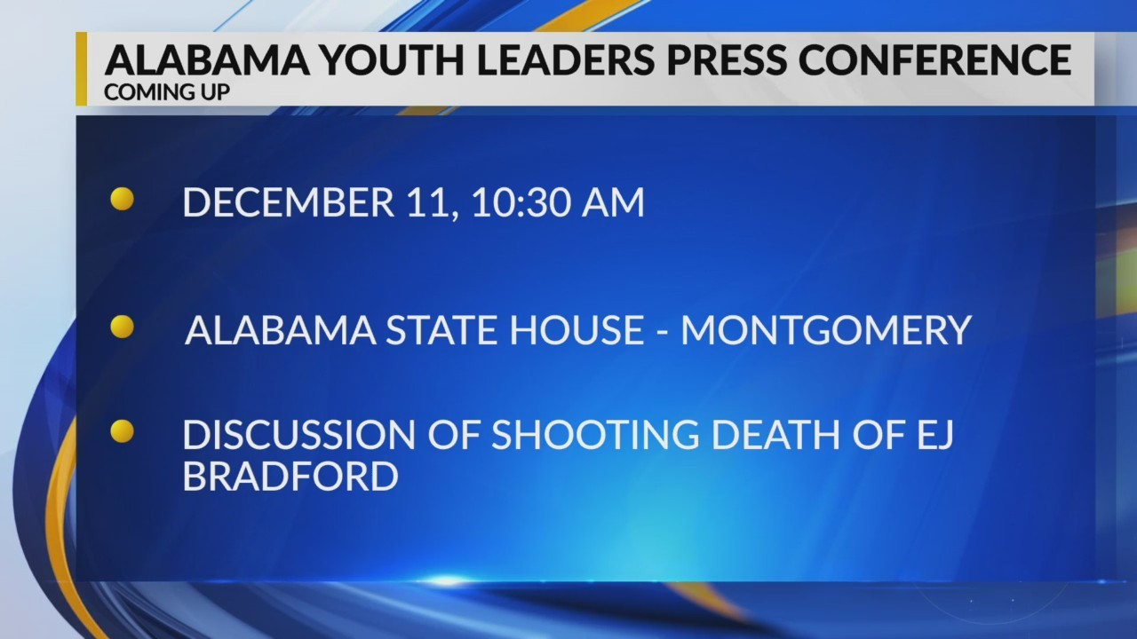 Alabama youth leaders press conference