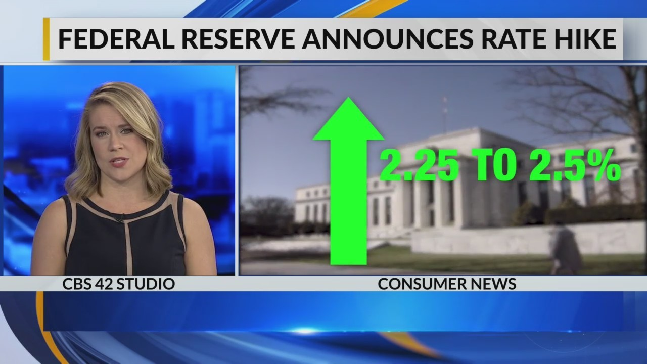 Federal Reserve announce rate hike