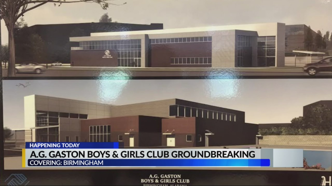 Groundbreaking planned for new A.G. Gaston Boys & Girls Club in Bimingham