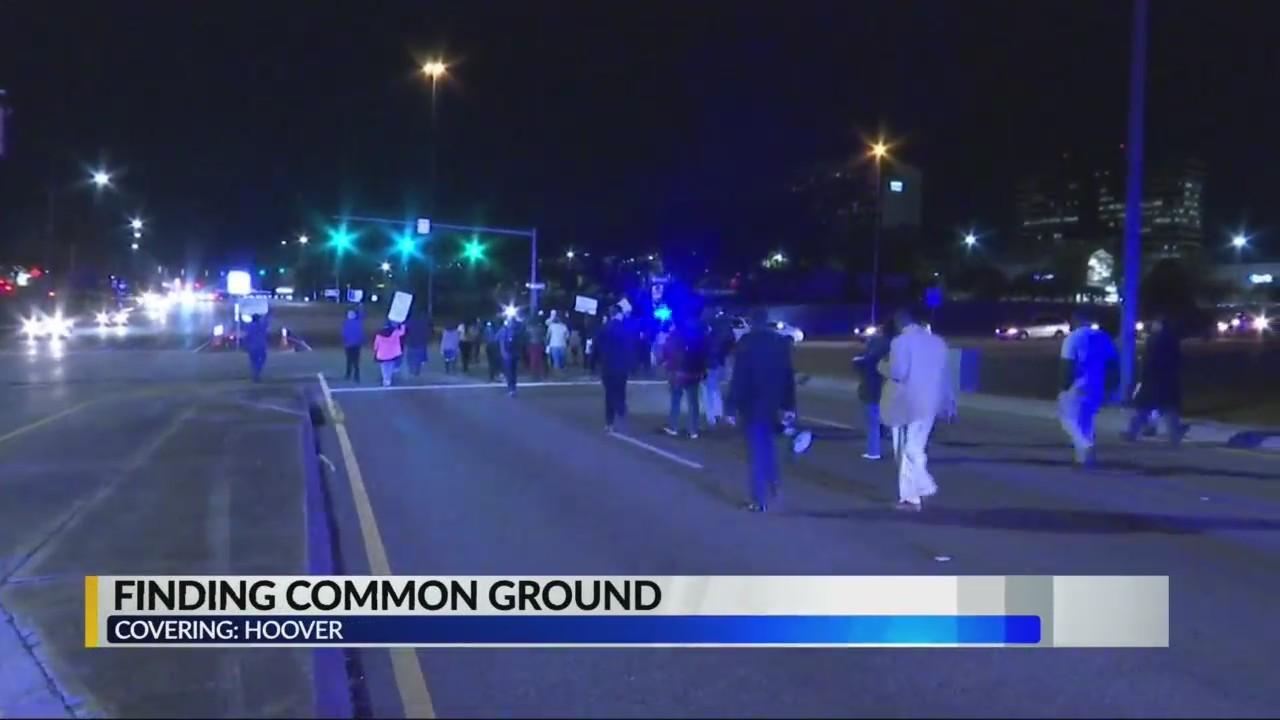 Halt in Hoover protests