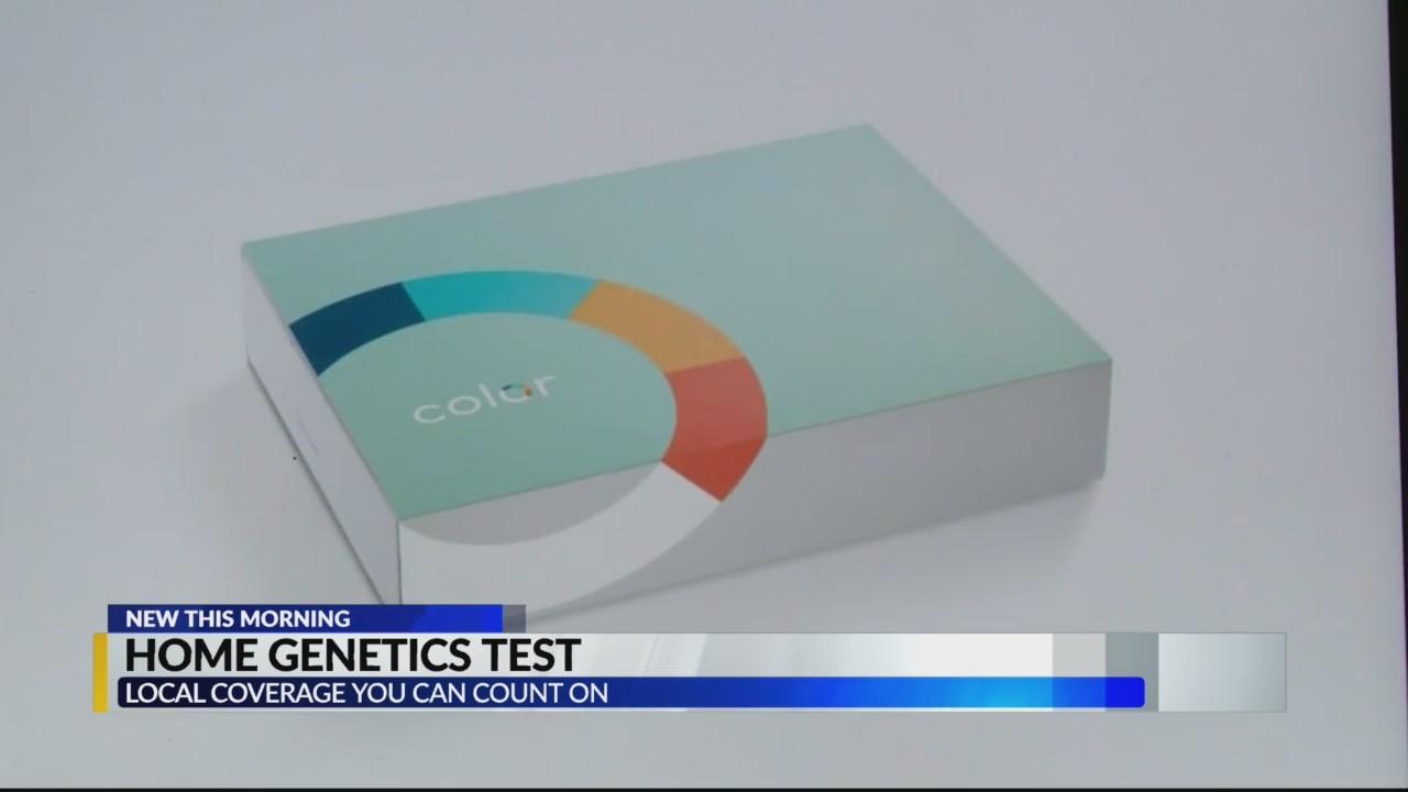 Home genetics test