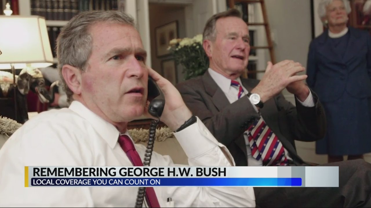 Remembering George H.W Bush