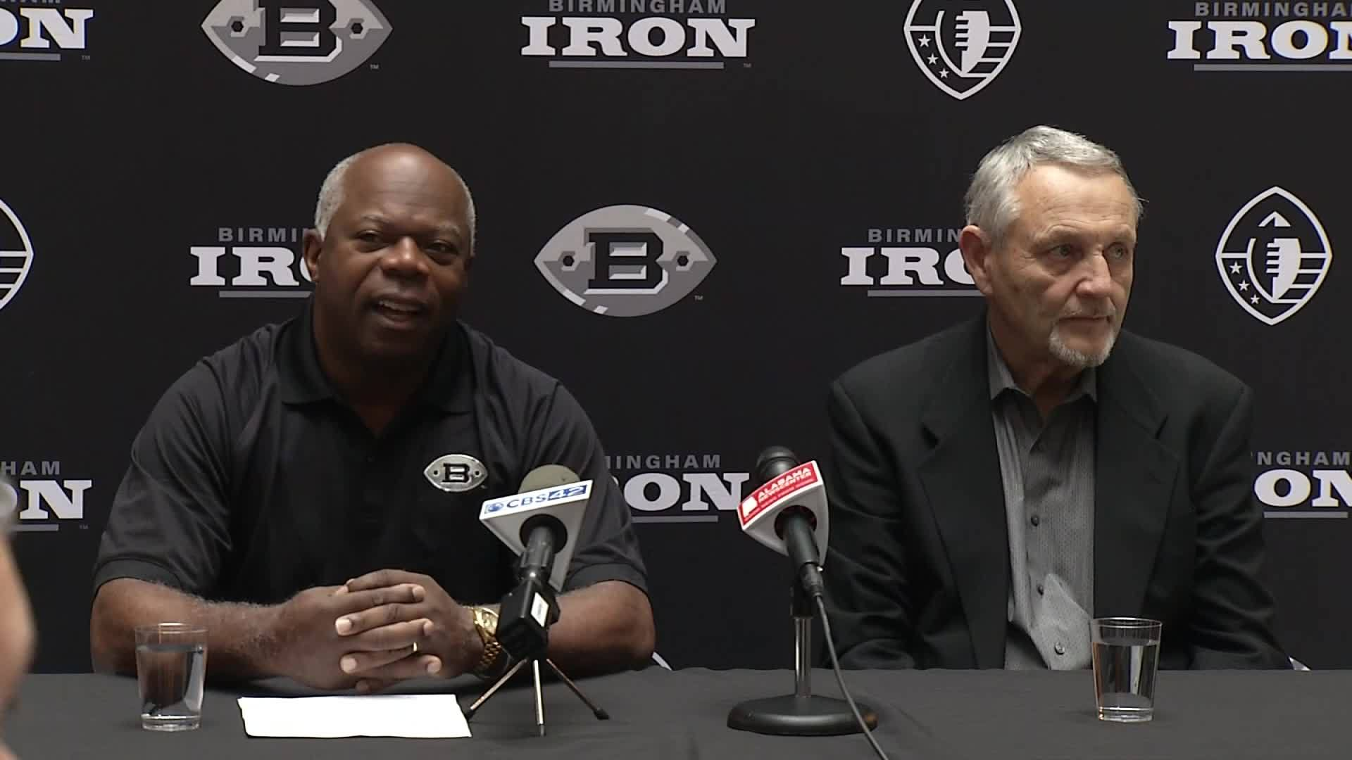 Birmingham Iron Announces Their Training Camp Days and Expectations for the Upcoming Season