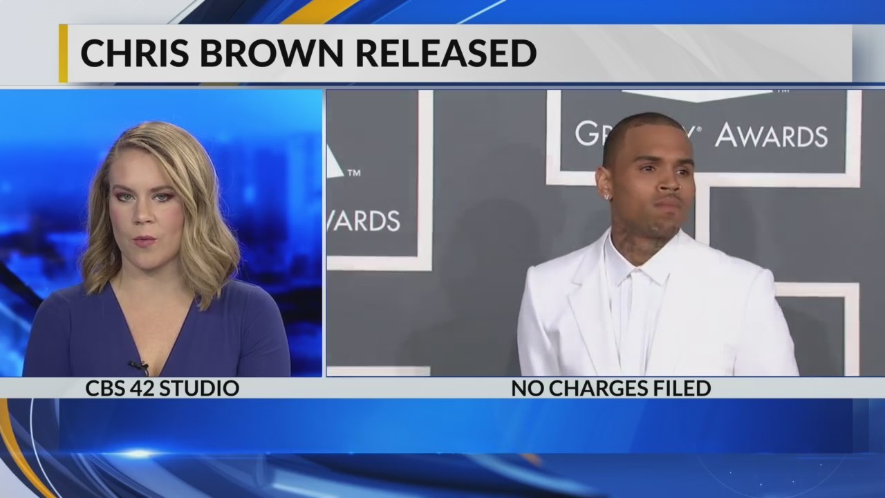 Chris Brown released