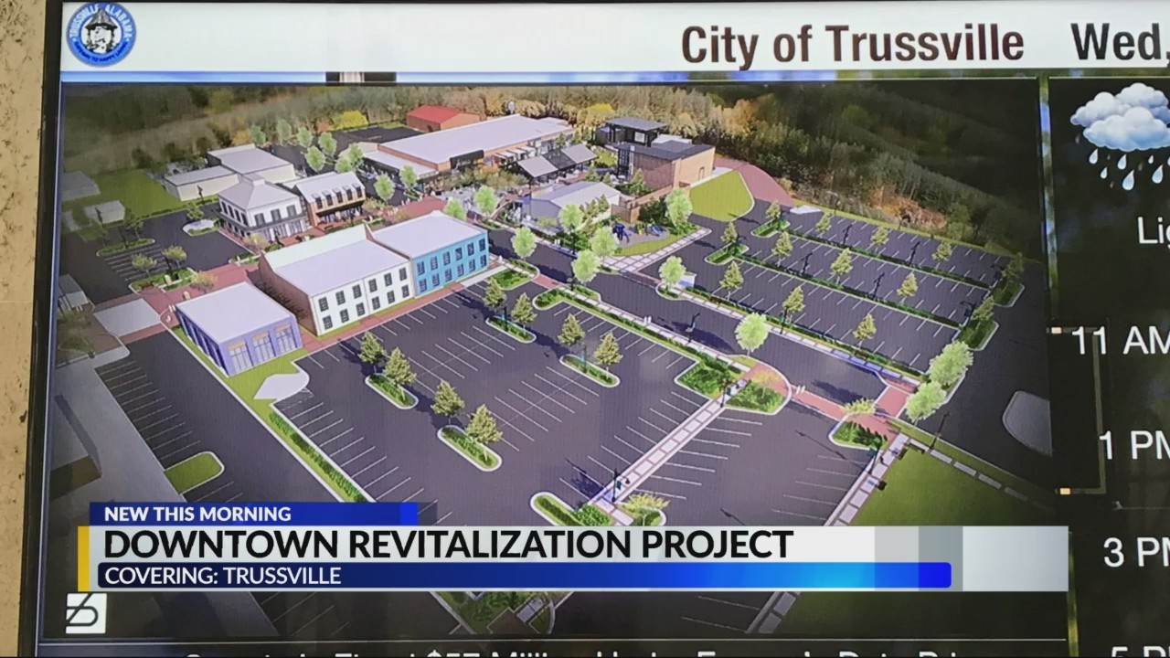 Downtown Trussville revitalization project begins