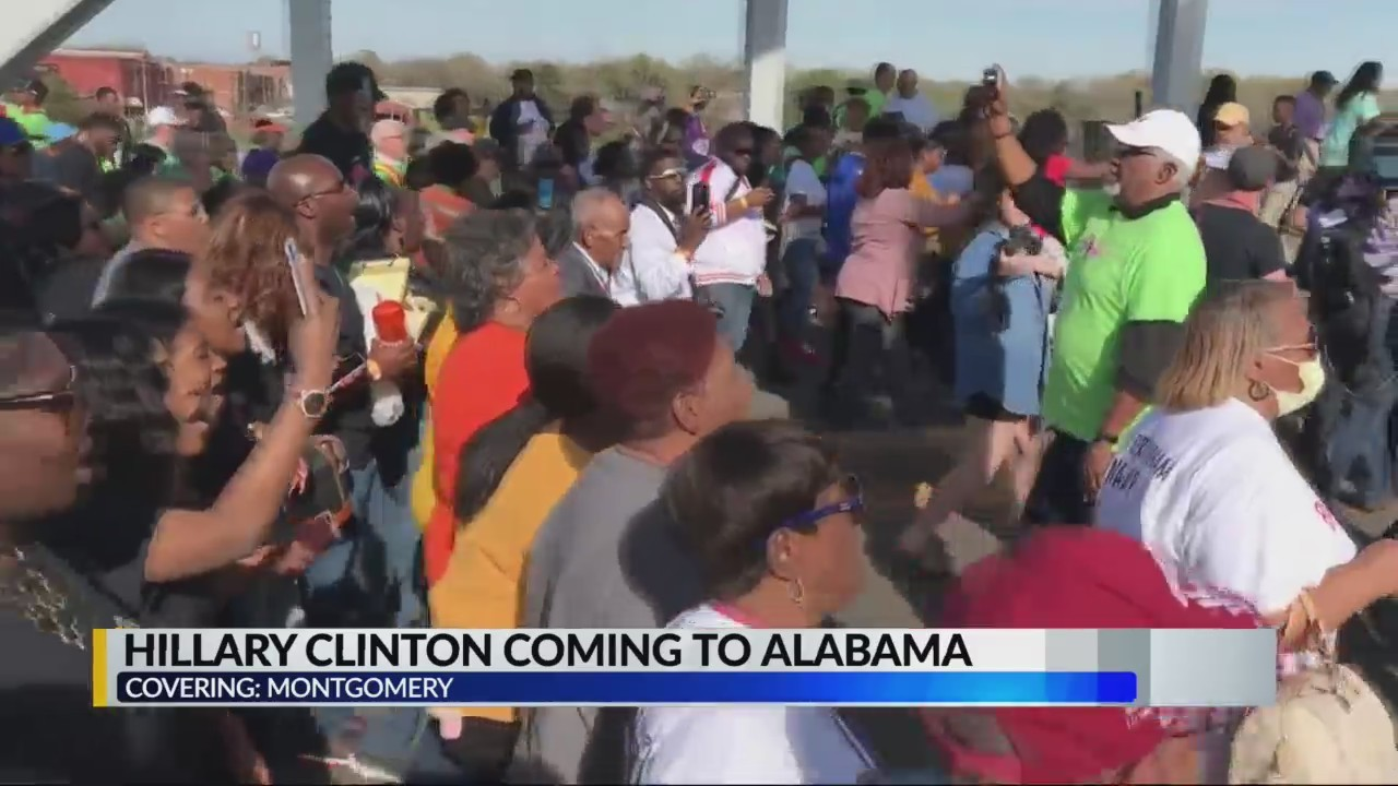Hillary Clinton coming to Alabama