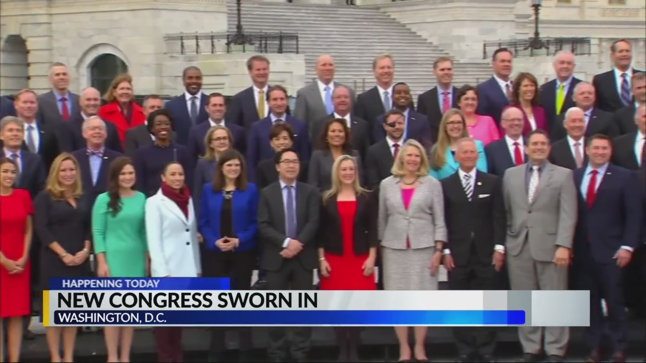 New Congress Sworn in