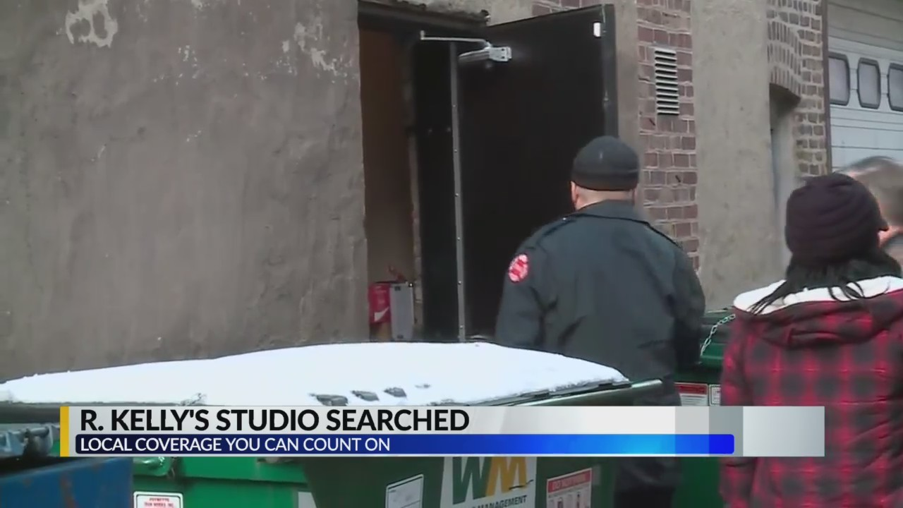 R.Kelly Chicago studio searched