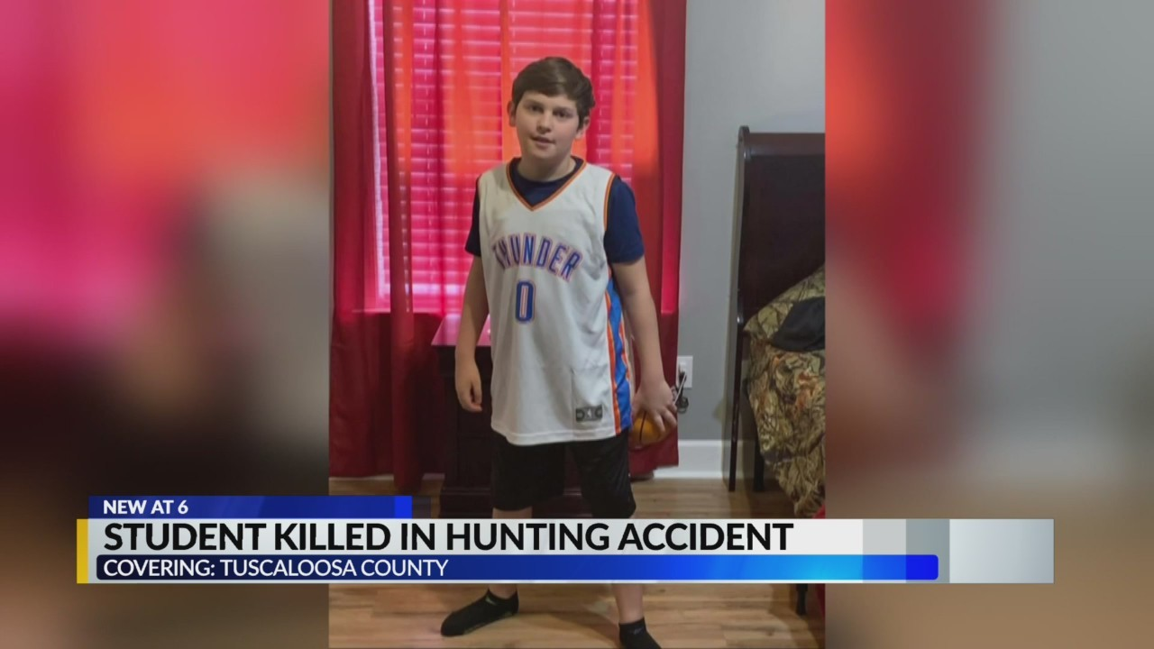 Tuscaloosa County Student killed in hunting accident