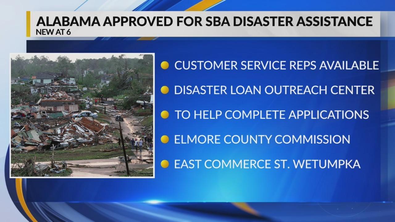 Alabama approved for SBA disaster assistance
