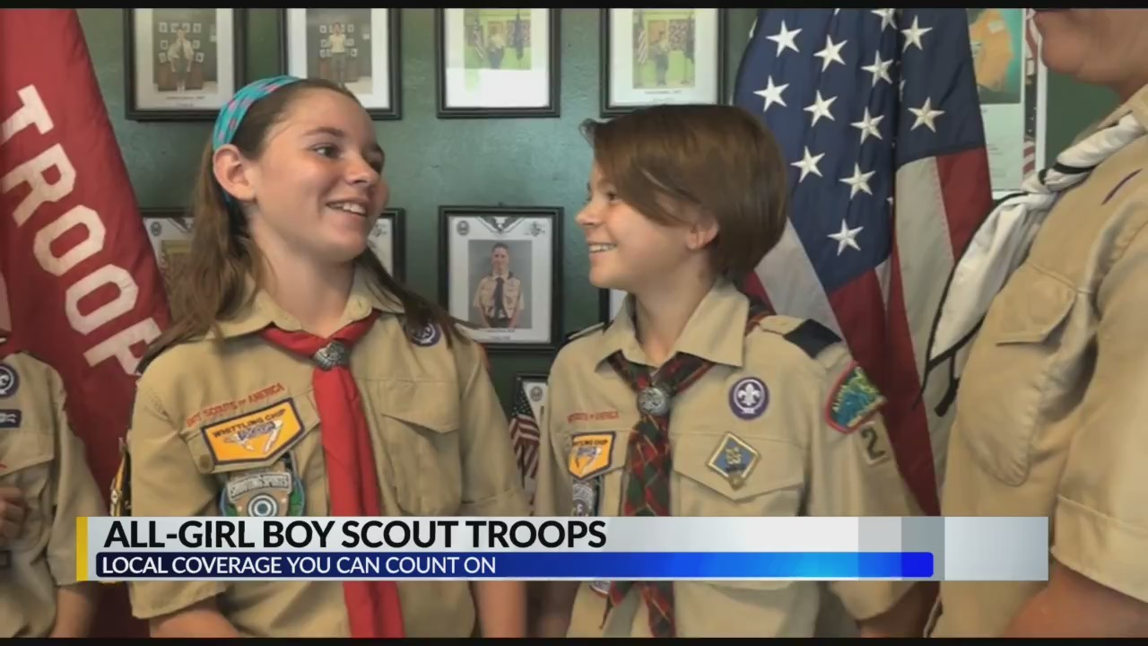 Boy Scouts of America allows two all-girl troops to form in Central Alabama