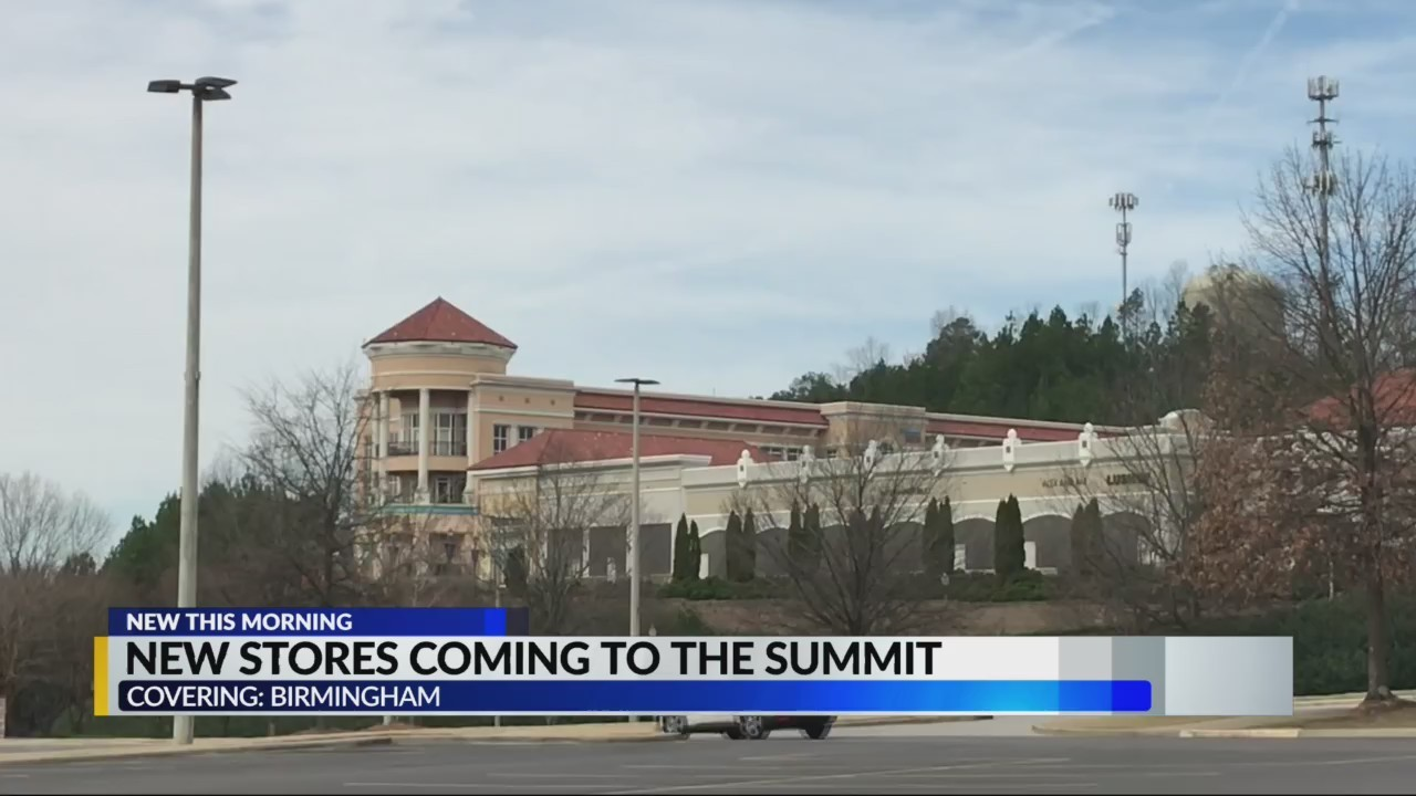 New stores coming to The Summit during Spring and Fall