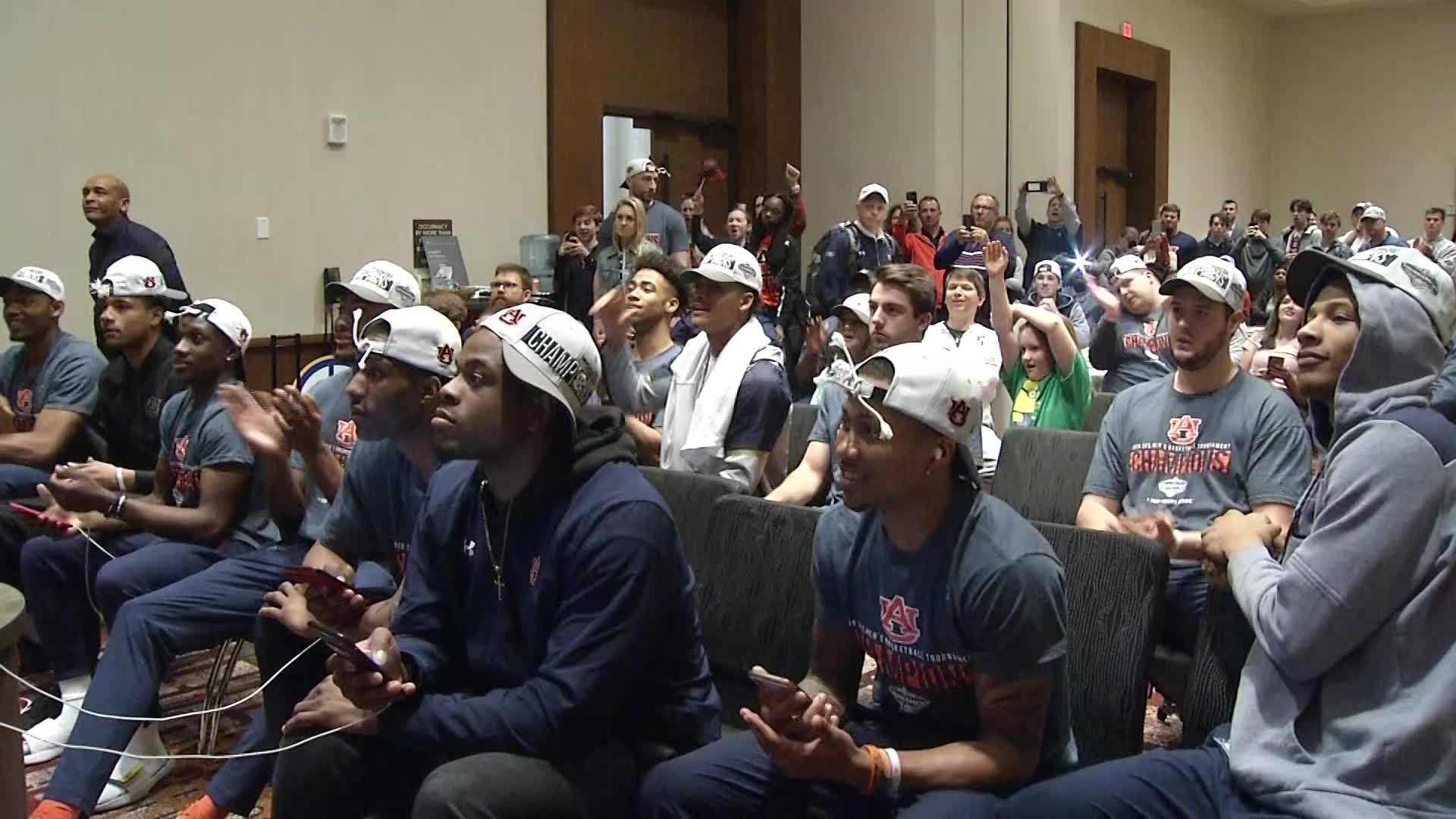 Auburn finds NCAA Tournament Fate