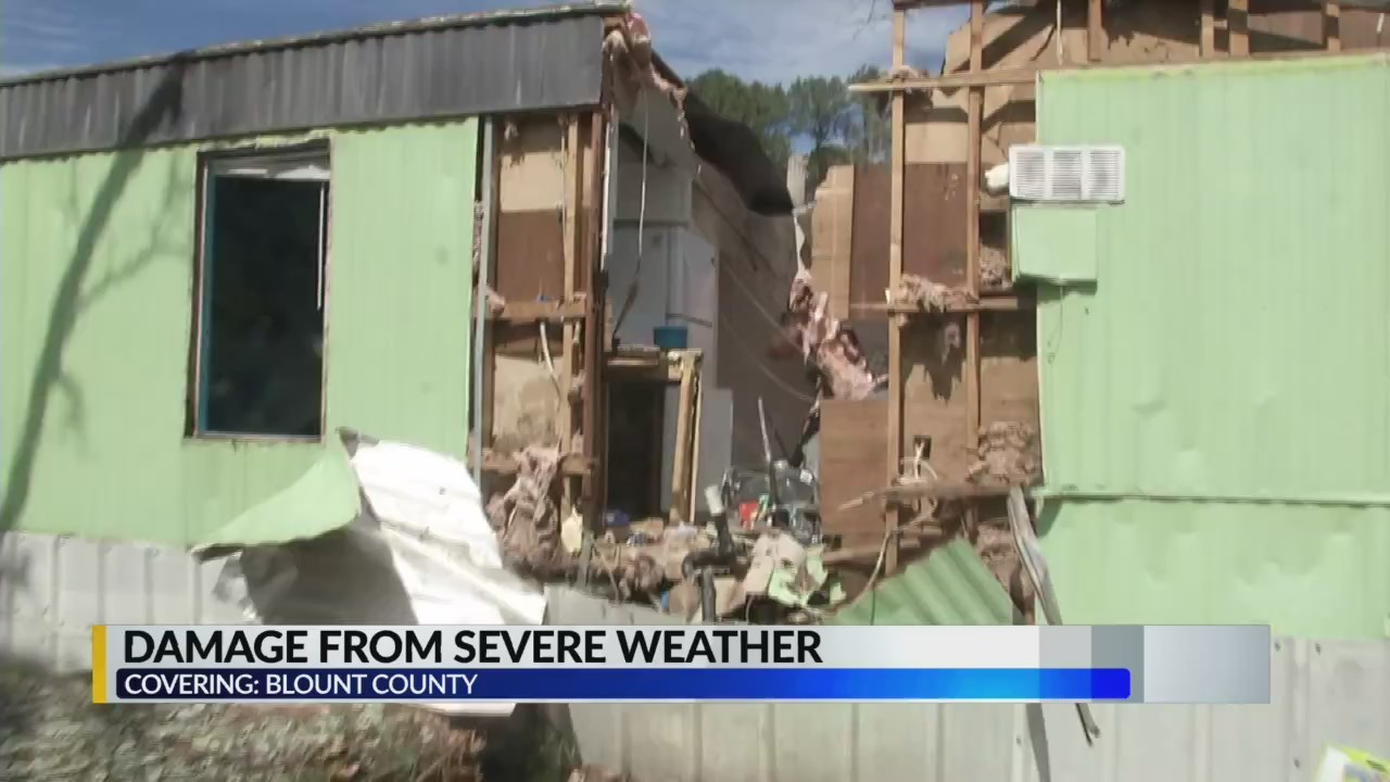 Blount County Storm Damage Aftermath