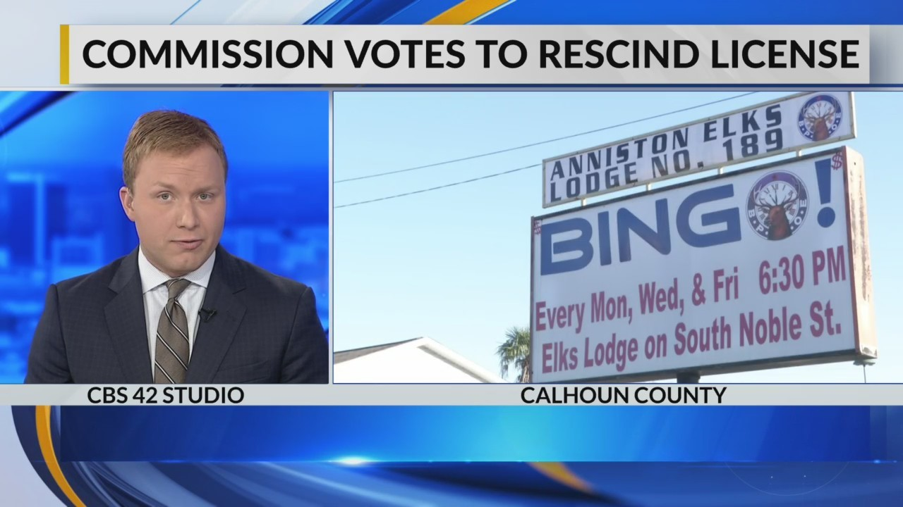 Commission votes to rescind license