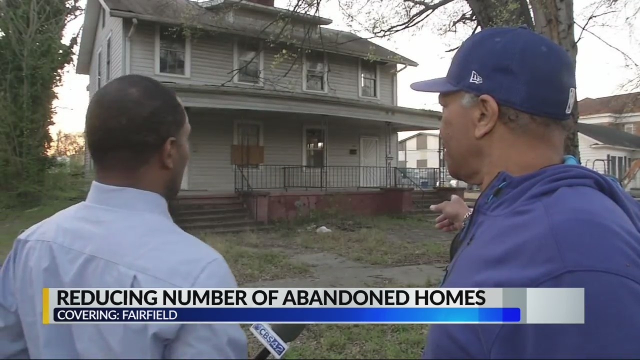 Reducing Number of Abandoned Homes in Fairfield