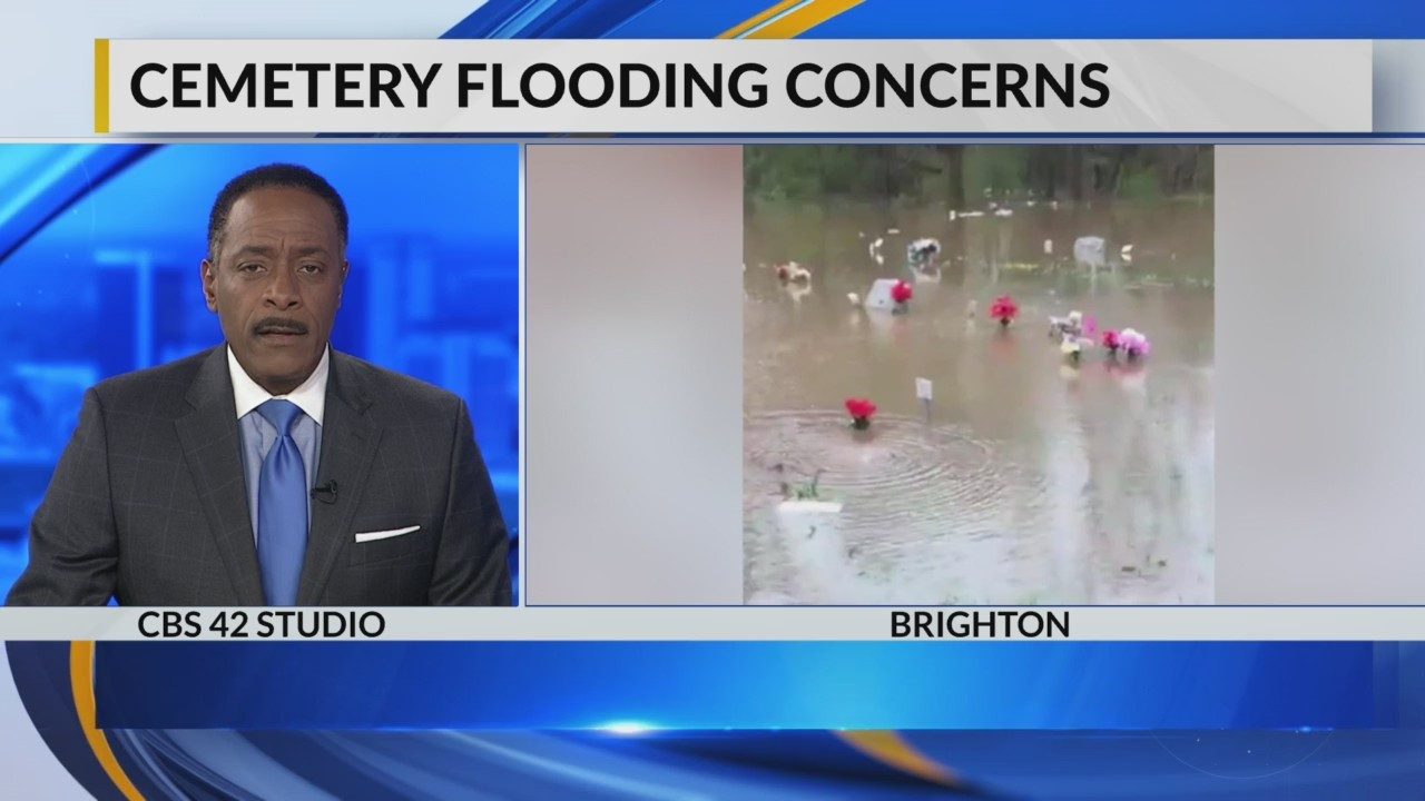 Update on cemetary flooding concerns