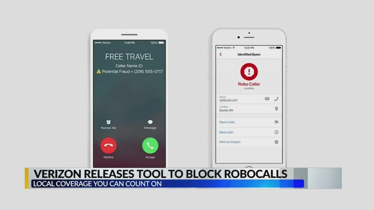 Verizon releases tool to block robocalls