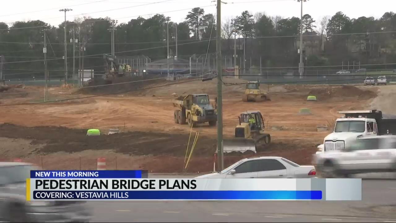 Vestavia Hills moves forward with plans for pedestrian bridge over Highway 31