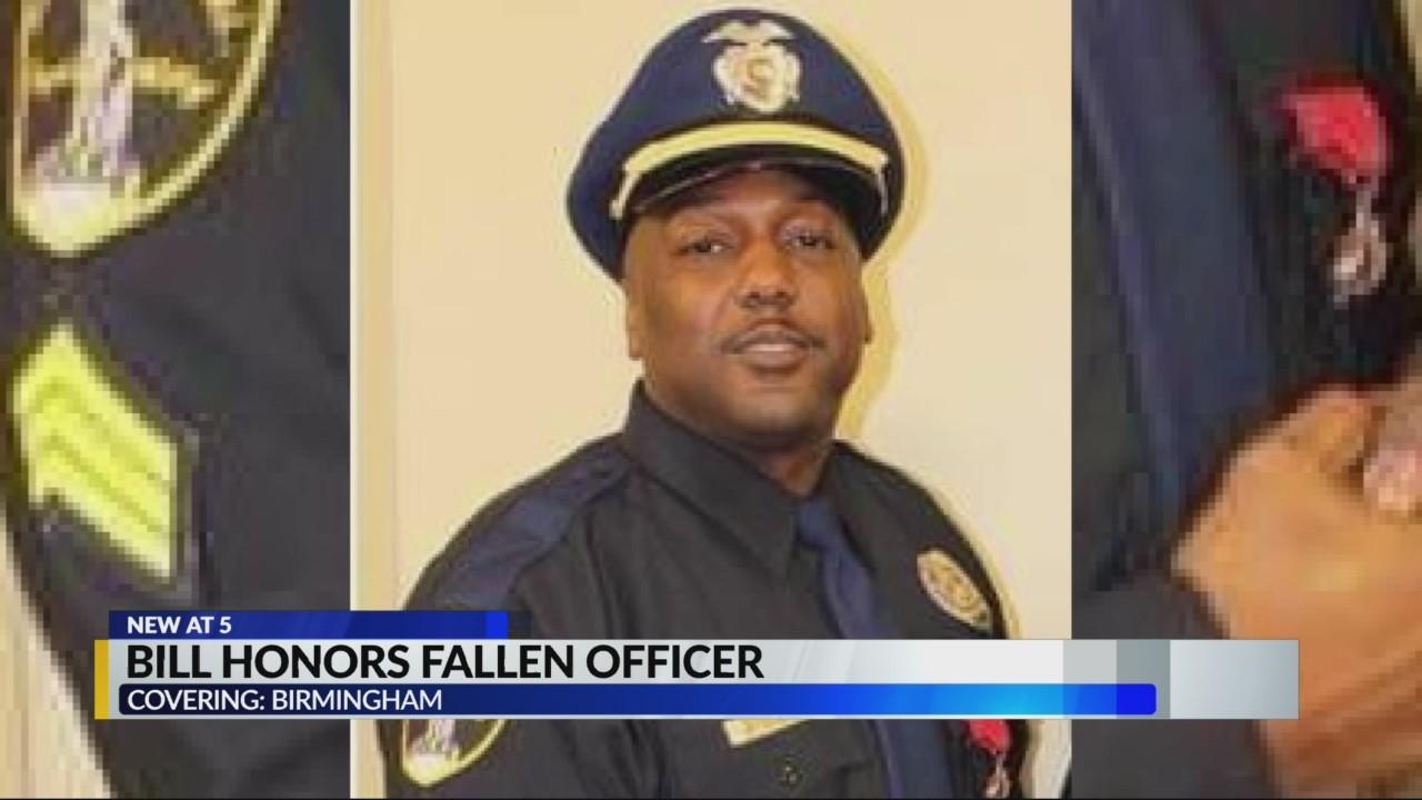 Resolution to honor fallen Birmingham police officer