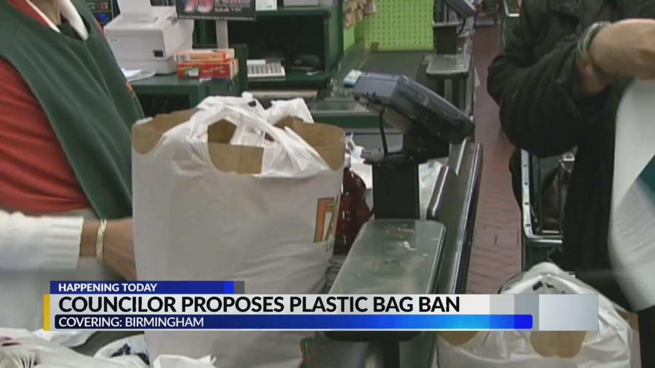 Birmingham councilor proposes plastic bag ban