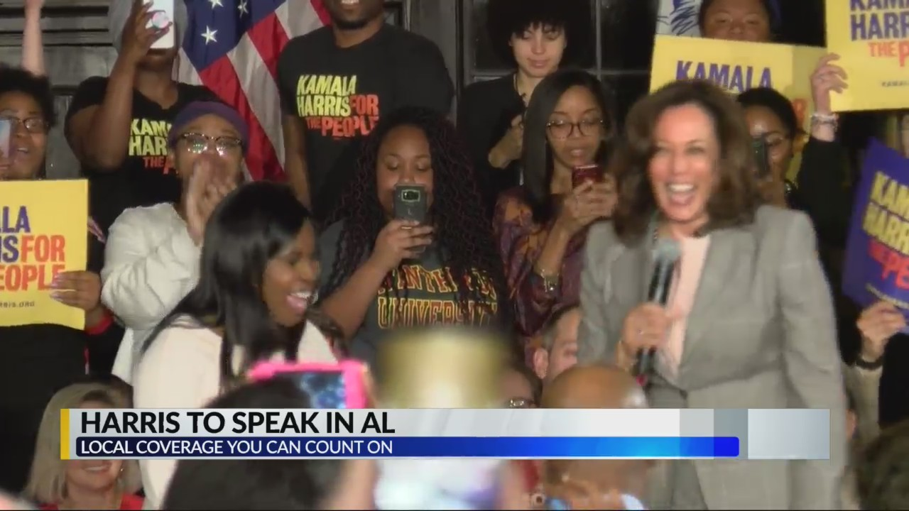 Kamala Harris to serve as keynote speaker at AL Democratic Party event