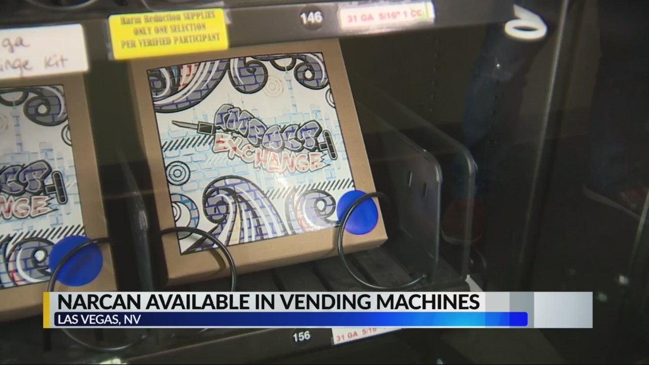 Narcan available in vending machines