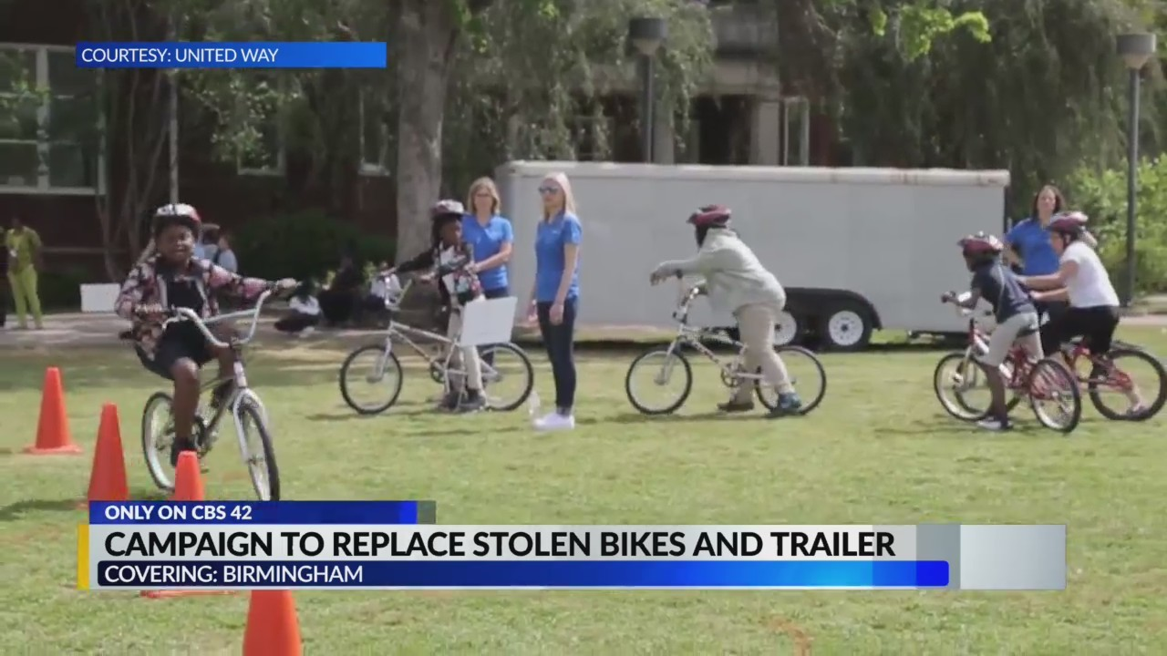 United Way launches campaign to replace stolen trailer, bikes