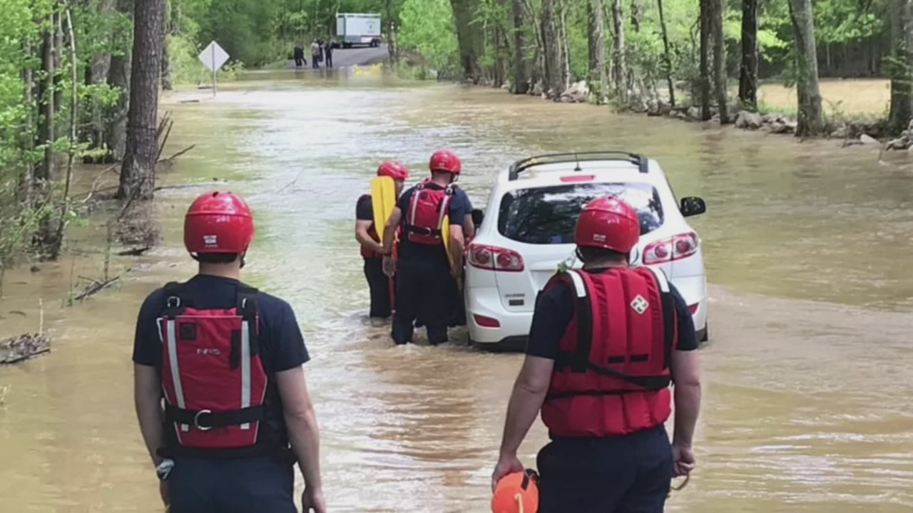 Water rescue in Jefferson County