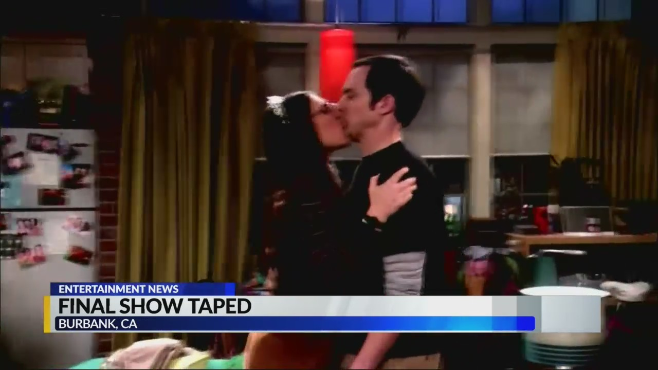 Final Big Bang Theory show taped