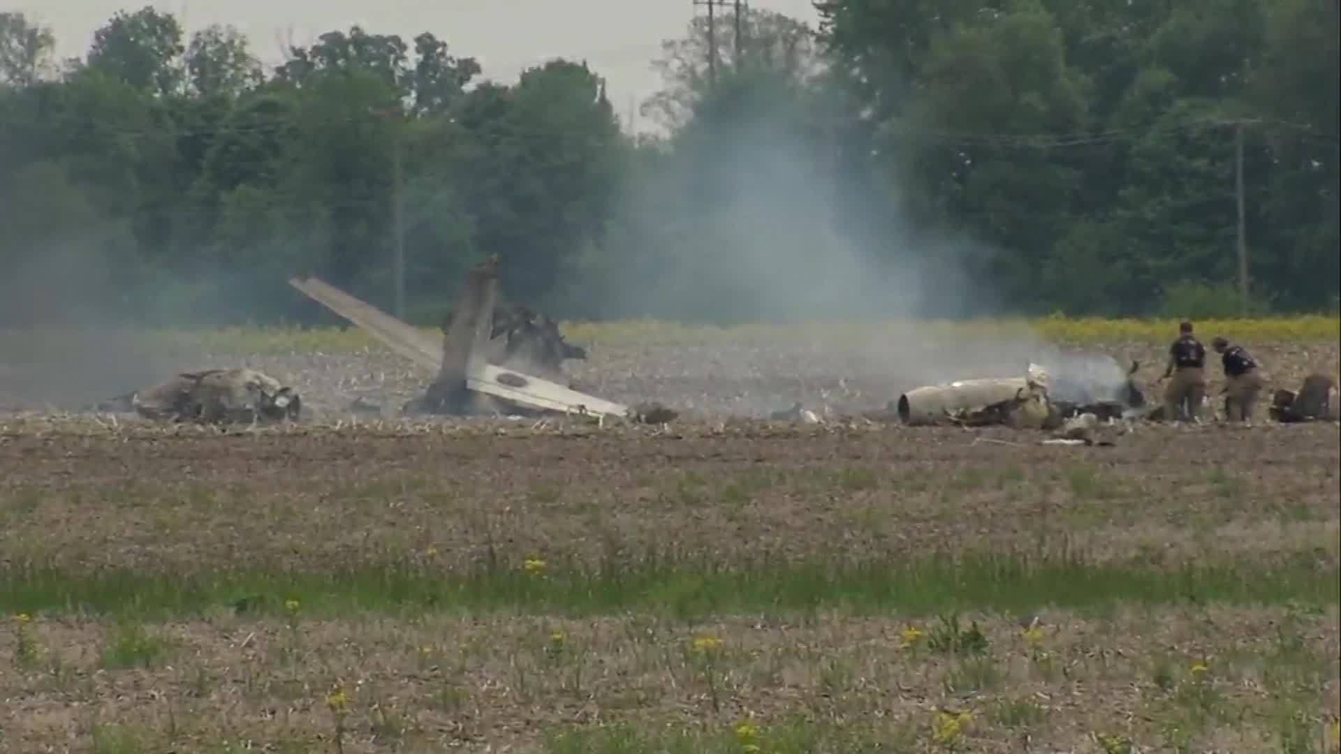 Two dead in plane crash in Indiana