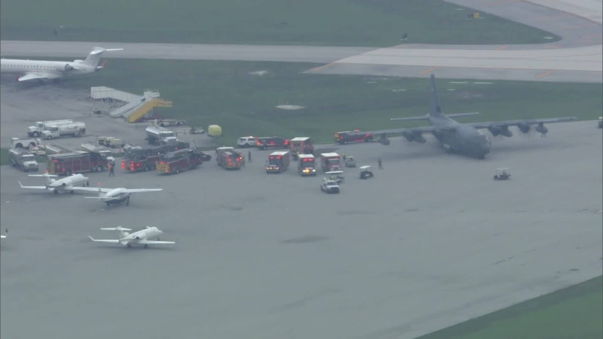 4 HURT PEOPLE FLOWN FROM BAHAMAS TO FT LAUDERDALE