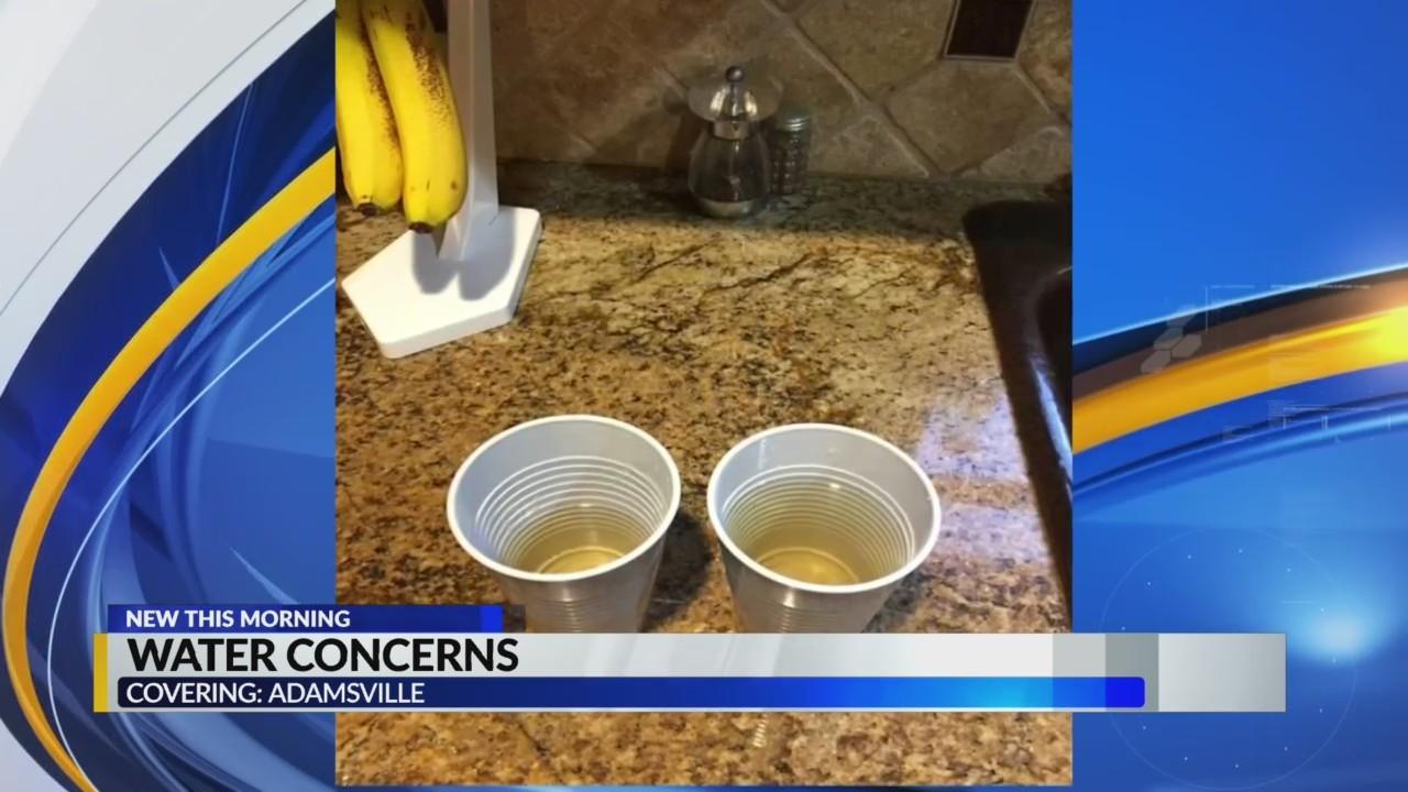 Water concerns in Adamsville