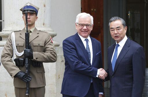 Jacek Czaputowicz, Wang Yi