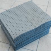 assorbenti grigi fibre
