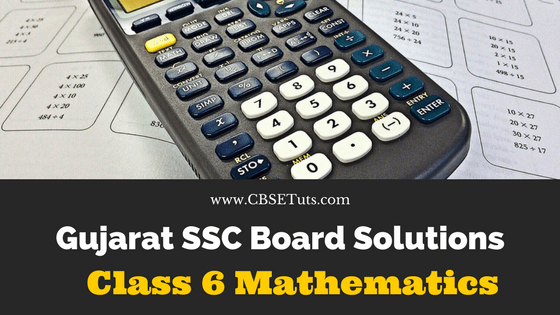 GSEB Textbook Std 6 Maths Solutions