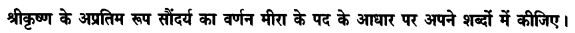 Chapter Wise Important Questions CBSE Class 10 Hindi B - पद 22