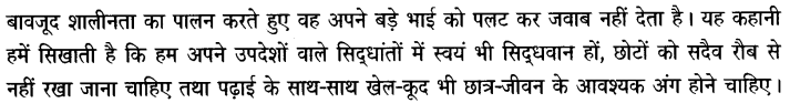 Chapter Wise Important Questions CBSE Class 10 Hindi B - बड़े भाई साहब 14