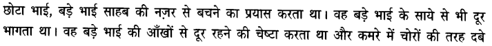 Chapter Wise Important Questions CBSE Class 10 Hindi B - बड़े भाई साहब 33