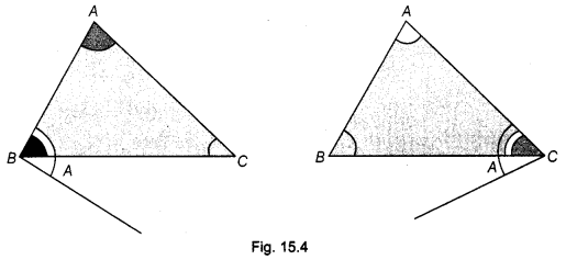 NCERT Class 9 Maths Lab Manual - Verify that in a Triangle, Longer Side has the Greater Angle 4