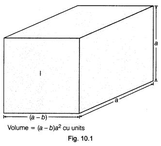 NCERT Class 9 Maths Lab Manual - Verify the Algebraic Identity a³-b³ = (a-b) (a²+ab+b²) 1
