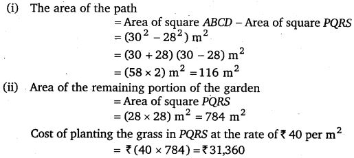 NCERT Solutions for Class 7 Maths Chapter 11 Perimeter and Area 51
