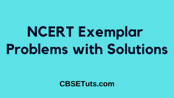 NCERT Exemplar Problems with Solutions for Class 6, 7, 8, 9, 10, 11, and 12