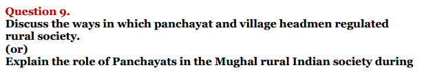 NCERT Solutions For Class 12 History Chapter 8 Peasants, Zamindars and the State Agrarian Society and the Mughal Empire 6
