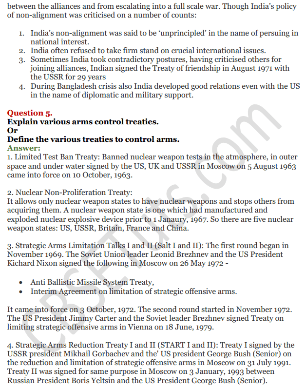 NCERT Solutions for Class 12 Political Science Chapter 1 The Cold War Era 25
