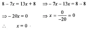 Selina Concise Mathematics Class 7 ICSE Solutions Chapter 12 Simple Linear Equations Ex 12B 38